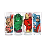 Marvel Glass Set - Characters