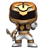 Power Rangers POP! Television Vinyl Figure White Ranger 9 cm