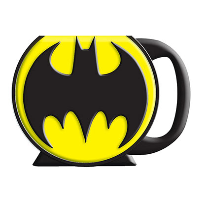 BATMAN Logo Shaped Mug