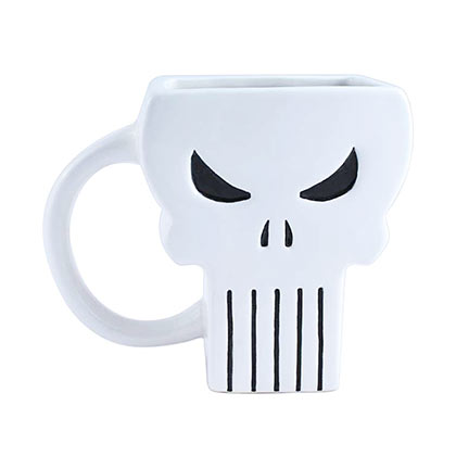 PUNISHER Logo Shaped Mug