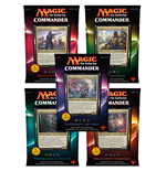 Magic the Gathering Commander (2016) Decks Display (5) french