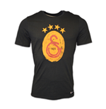 2016-2017 Galatasaray Nike Crest T-Shirt (Black)