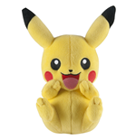 Pokemon Plush Figure Pikachu C (laughing) 20 cm