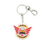 Star Wars Rogue One Rubber Keychain Red Leader 7 cm