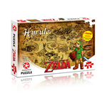Legend of Zelda Jigsaw Puzzle Hyrule Field