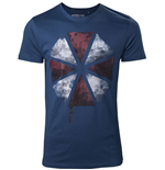 Resident Evil T-Shirt Blood Dripping Umbrella Logo