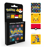 Pokemon Coaster 4-pack Mix