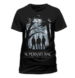 Supernatural - Group Outline - Unisex T-shirt Black