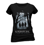 Supernatural - Group Outline - Women Fitted T-shirt Black