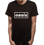Oasis - Black Logo - Unisex T-shirt Black