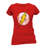 The Flash - Logo - Women Fitted T-shirt Red