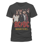 AC/DC - H2H Photo - Unisex T-shirt Grey