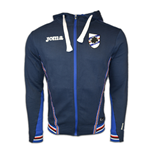 2016-2017 Sampdoria Joma Hooded Top (Navy)