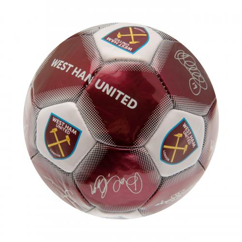 West Ham United F.C. Skill Ball Signature