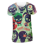 Suicide Squad - Poster Sublimation - Unisex T-shirt White
