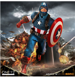 Marvel Universe Action Figure 1/12 Captain America 15 cm