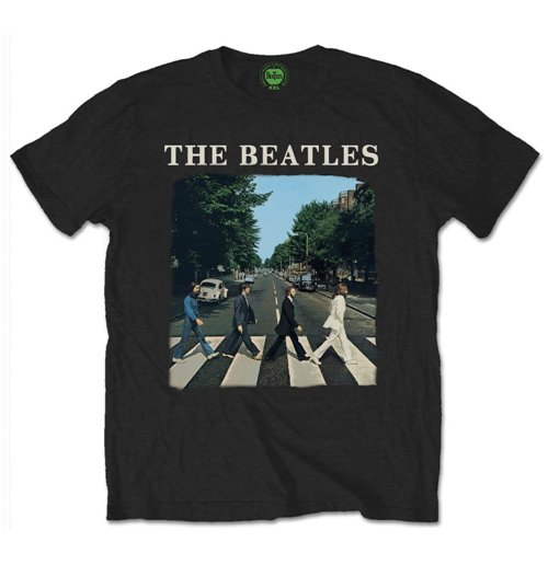 The Beatles T Shirt Abbey Road With Logo Black For Only