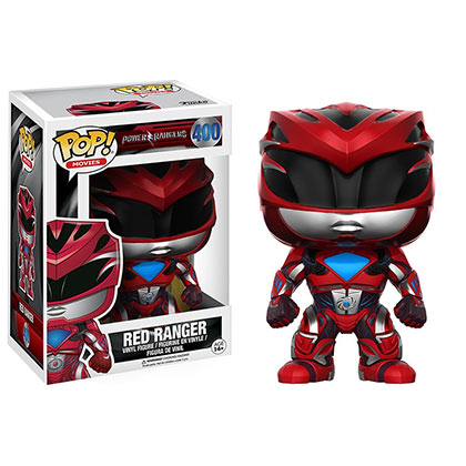 Funko Pop Red Power Ranger Figurine