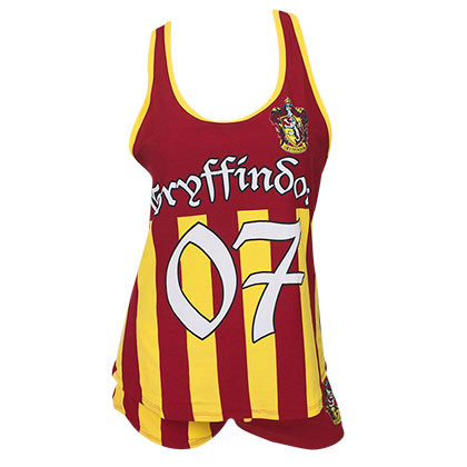 HARRY POTTER Gryffindor Quidditch Seeker Varsity Sleep Set