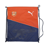 2016-2017 Arsenal Puma Fan Gym Sack (Red-Navy)