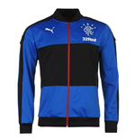 2016-2017 Rangers Puma Stadium Jacket (Blue)