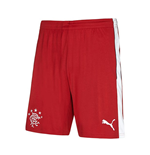 2016-2017 Rangers Away Football Shorts (Red)