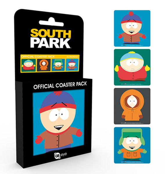 South Park Mix Coaster Box