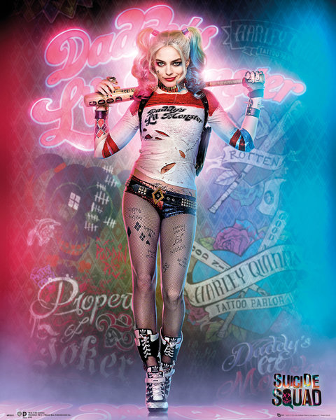SUICIDE SQUAD Harley Quinn Stand Mini Poster