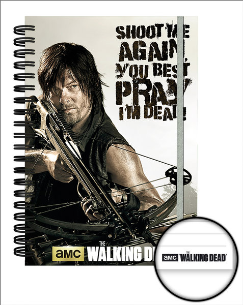 The Walking Dead Crossbow A5 Notebook