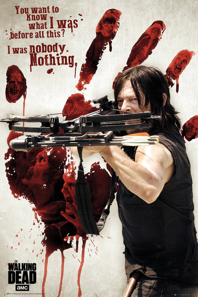 THE WALKING DEAD Bloody Hand Daryl Maxi Poster