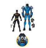 DC Comics Designer Action Figure 2-Pack Batman by Greg Capullo 17 cm