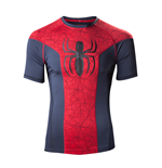 Spiderman T-shirt - Big Spidey Logo Sport Blue