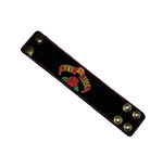 Guns N Roses - Logo Leather WB