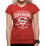 Batman V Superman - Stronger Faster - Women Fitted T-shirt