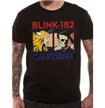 Blink 182 - California Album - Unisex T-shirt Black
