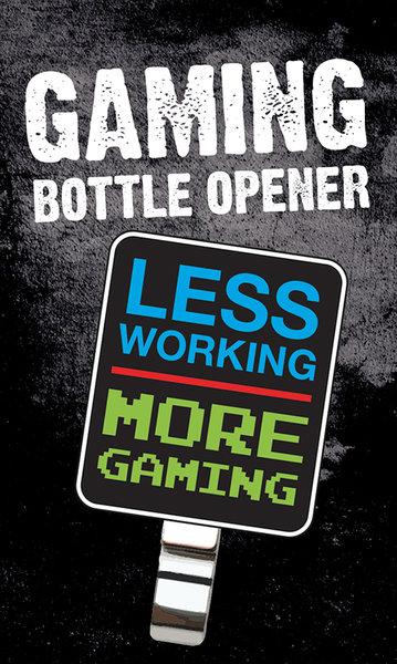 gaming more gaming bottle opener for only at merchandisingplaza uk. Black Bedroom Furniture Sets. Home Design Ideas