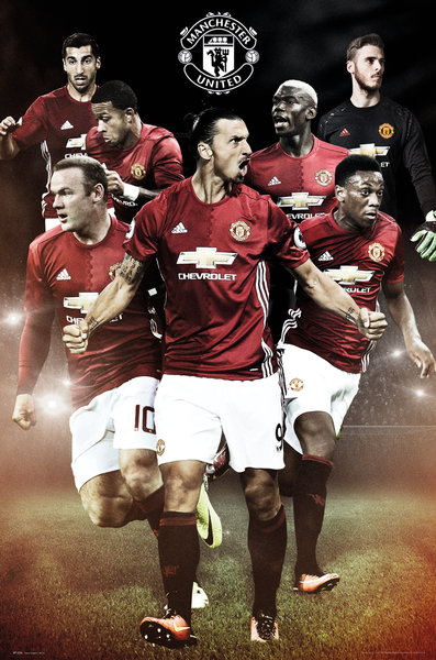 MANCHESTER UNITED Players Maxi Poster