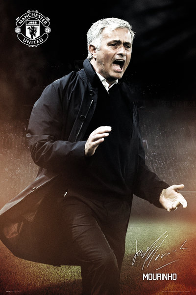 MANCHESTER UNITED Mourinho Maxi Poster