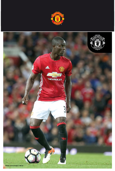 "MANCHESTER UNITED Bailly 16/17 10"" x 8"" Bagged Photographic"