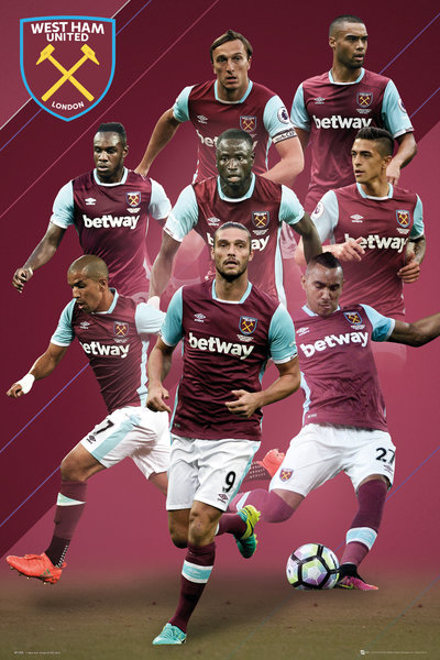 WEST HAM Players 16/17 Maxi Poster