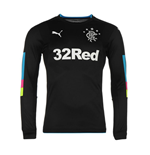 2016-2017 Rangers Home Goalkeeper Shirt (Black)