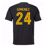 2016-17 Atletico Madrid Away Shirt (Gimenez 24)