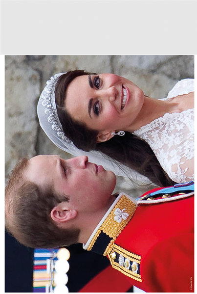 "Royals Wedding 10"" x 8"" Bagged Photographic"