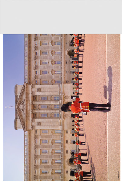 "Royals Guards 10"" x 8"" Bagged Photographic"