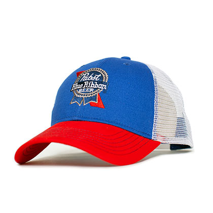 Pabst Blue Ribbon Embroidered Logo Hat