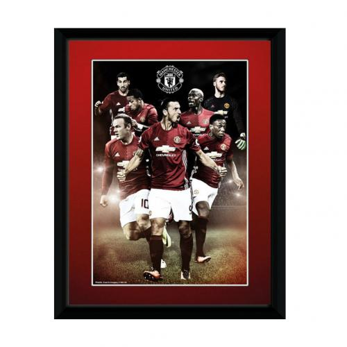Manchester United F.C. Picture Players 8 x 6