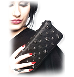Black Wallet with Studs