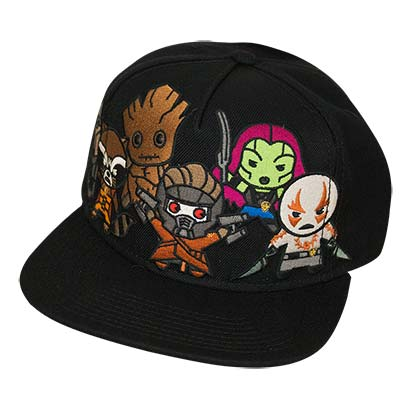 GUARDIANS OF THE GALAXY Kawaii Style Snapback Hat