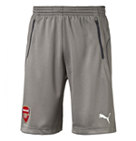 2016-2017 Arsenal Puma Training Shorts (Grey)