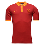 2016-2017 Galatasaray Nike Core Polo Shirt (Pepper Red)